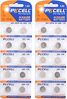 Button cell watch batteries 1.5v AG9 194 LR936 Count 20Pcs