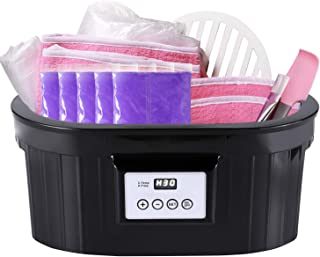 Paraffin Wax Machine - 5000ml Paraffin Wax Machine for Hand and Feet BTArtbox Paraffin Bath Warmer with 1000g Paraffin Wax 200pcs Liners 2pcs Mitts 2pcs Booties for Smooth and Soft Skin