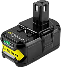[Upgrade] ANTRobut 5.0Ah 18V Replacement Battery for Ryobi 18V Lithium Battery for P102 P103 P104 P105 P107 P108 P109 Ryobi 18-Volt ONE+ Cordless Tool