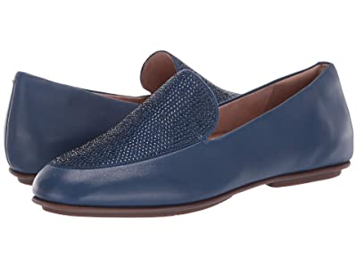 FitFlop Lena Crystal Loafers (Aurora Blue) Women