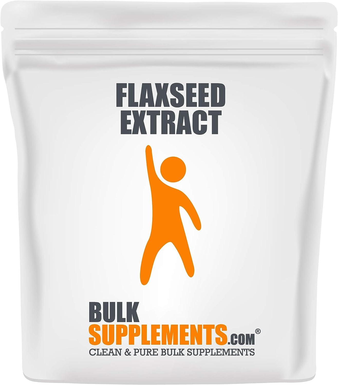 BulkSupplements.com Flaxseed Extract Powder New product 5 Kilograms lb Super special price 11 -