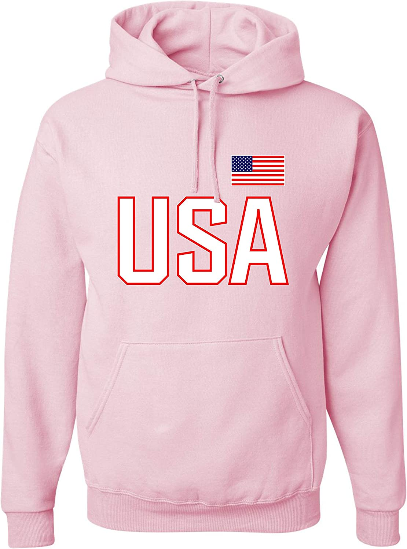Go All Out モデル着用&注目アイテム Adult USA National Hoodie 限定価格セール Pride Sweatshirt