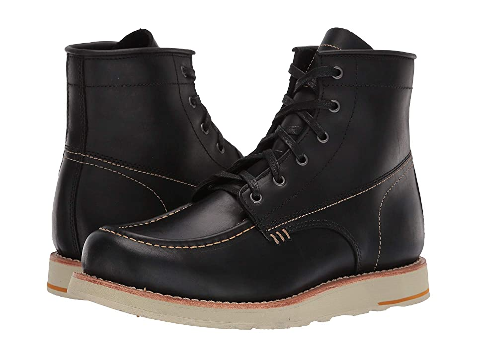 Georgia Boot Small Batch 6 Moc Toe Wedge (Black) Men