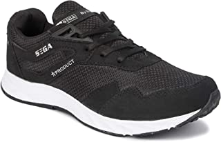 SEGA Men's Mesh Running/Jogging/Gym/Walking/Trekking Indoor and Outdoor Sports Shoes