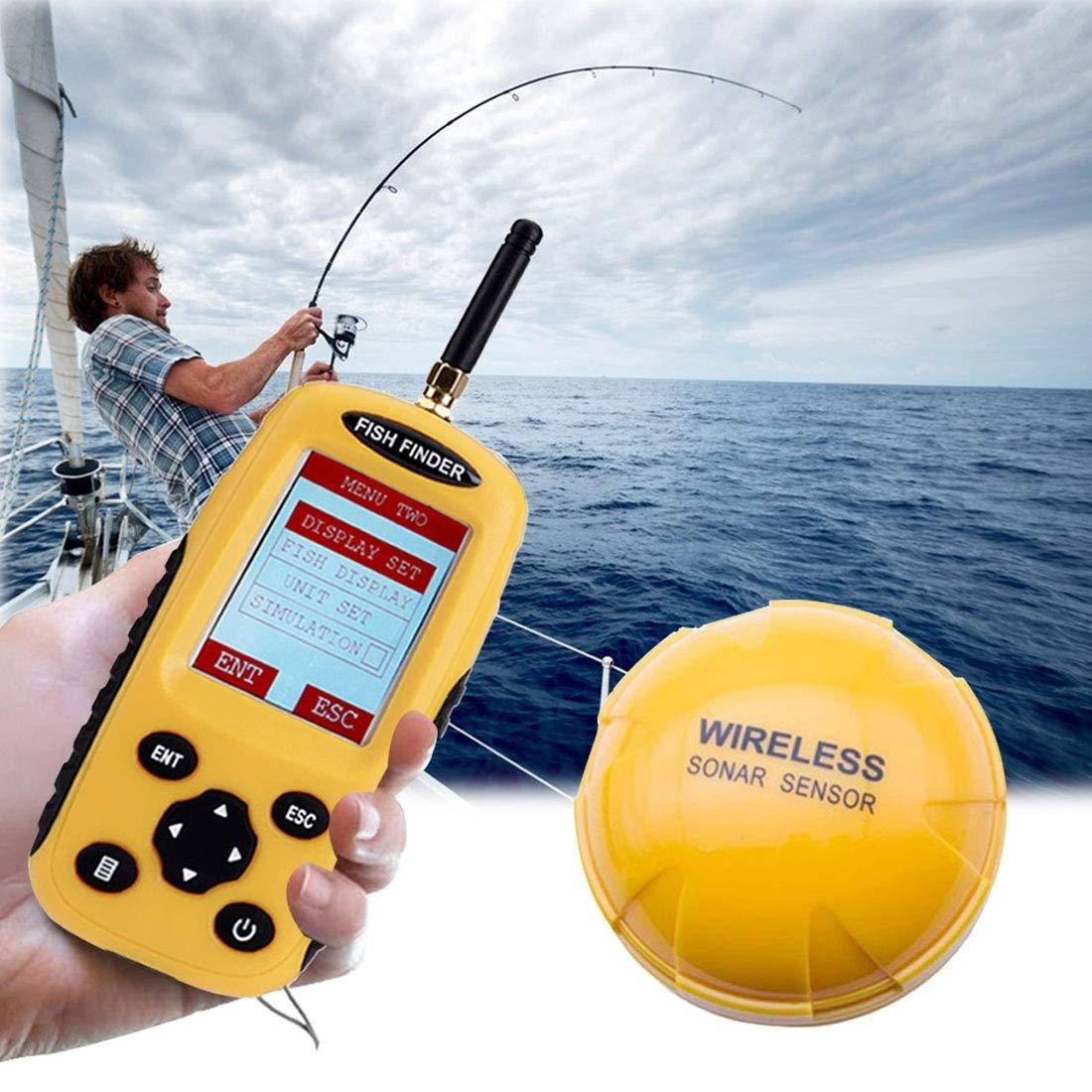 Xiaochou@sl XF-03 - Detector de pez inalámbrico (125 kHz ...