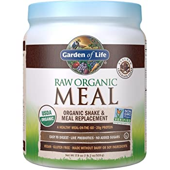 Garden Of Life, Meal Raw Chocolate Organic, 17.9 Ounce