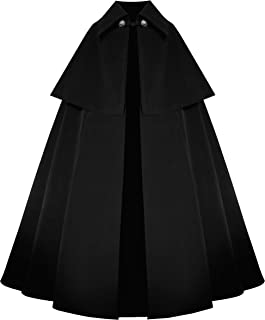 Victorian Historical Steampunk Gothic Renaissance Medieval Velvet Cape Cloak