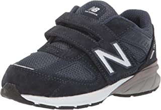 New Balance Kids' 990v5 Hook and Loop Running Shoe