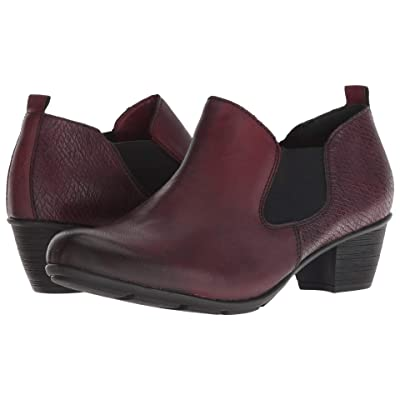 Rieker R7575 Queenie 75 (Chianti/Bordeaux/Burgundy) Women