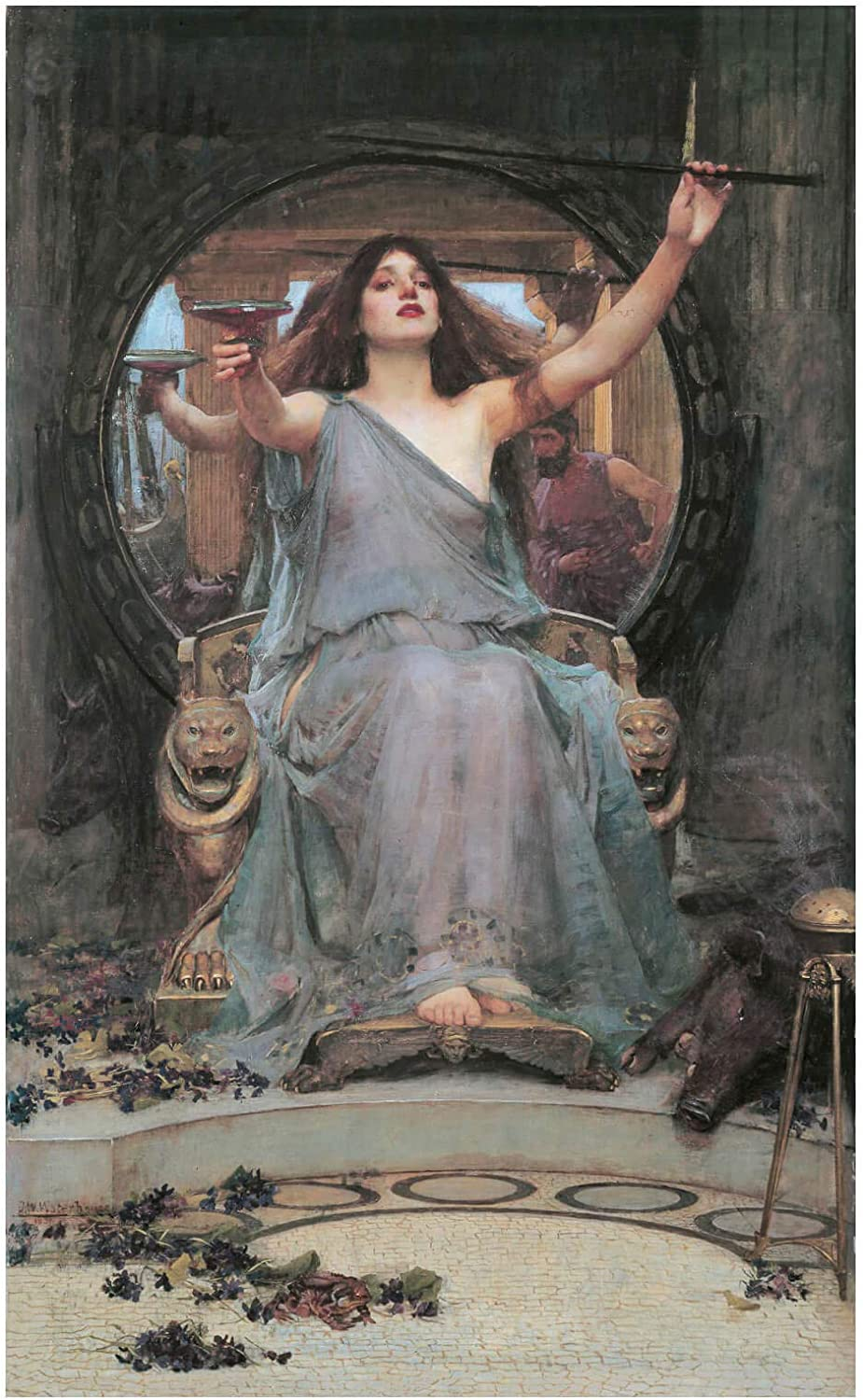 Spiffing Prints John William Waterhouse Raleigh Mall Offering to Cup unisex - Circe