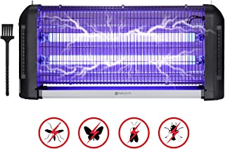YUNLIGHTS 30W Lampara Antimosquitos Electrico con luz UV para Interiores al Aire Libre - Independiente o Colgante de Pared