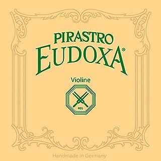 Pirastro Eudoxa 4/4 Violin String Set - Medium Gauge with Ball-End E