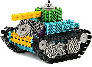 PACKGOUT Building Kits for Boys Gift, STEM Robot Kits Construction Set Build Your Own Remote Control Building Kits