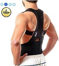 Back Brace Posture Corrector for Men and Women, MIUOLV Best Adjustable Posture Brace Provides Lumbar Support and Improves Posture/Neck, Shoulder, Lower and Upper Back Pain Relief (34.65-38.58)