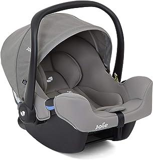 Joie(ジョイー) シートベルト固定 ベビーシート アイ・スナグ グレーフランネル 0か月~ (1年保証) 38006