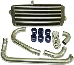 Autobahn88 Front-Mount Intercooler Complete FMIC Kit, fits for Mitsubishi Lancer Evolution EVO 1 2 3 CD9A CE9A 4G63