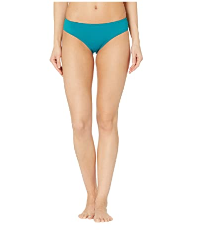 Vince Camuto Surf Shades Shirred Smooth Fit Cheeky Bikini Bottoms (Hydro) Women