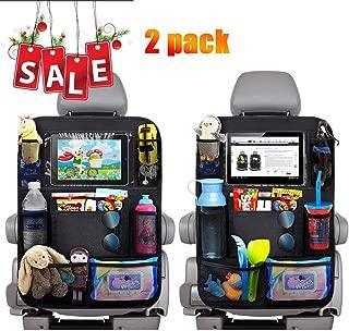 Autositzschoner Rückenlehne Kinder Auto-Organizer Faltbares iPad-Tablet-Halter