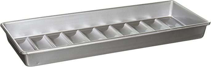 USA PAN 1190NE Bakeware Aluminized Steel New England Hot Dog Pan Gray 15 x 6 x 1.5