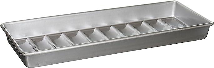USA Pan Bakeware Aluminized Steel New England Hot Dog Pan Hot Dog Pan 15 x 6 x 1.5 Gray