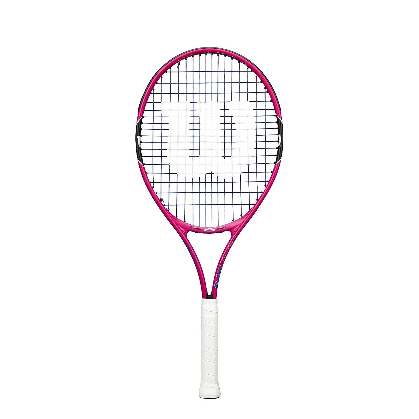 ミキサー肉の祈るWilson(ウイルソン) キッズ ジュニア テニスラケット BURN PINK (バーンピンク) 19 / 21 / 23 / 25  [ガット張り上げ済み]