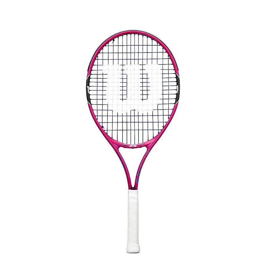 可能性ささいな汚いWilson(ウイルソン) キッズ ジュニア テニスラケット BURN PINK (バーンピンク) 19 / 21 / 23 / 25  [ガット張り上げ済み]