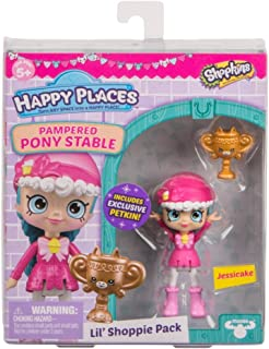 Shopkins Happy Places Lil Shoppie Pack Jessicake - Pampered Pony Stable