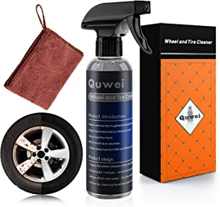 Wheel and Tire Cleaner - Premium Rim & Tire Spray , Safe for all Wheels and Rims - Restores Shine & Clears Stains - Polished, Painted Alloy, Chrome Wheels