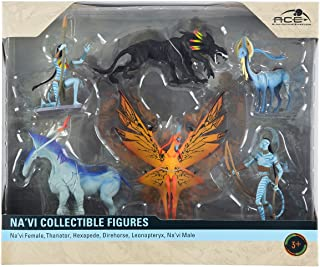 Disney World Pandora Avatar Na'vi Collectible Figures Playset