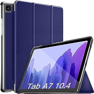 جراب CCMAO لهاتف Samsung Galaxy Tab A7 10.4 2020، جراب صلب فائق النحافة وخفيف الوزن ثلاثي الطي لهاتف Galaxy Tab A7 10.4 بو...
