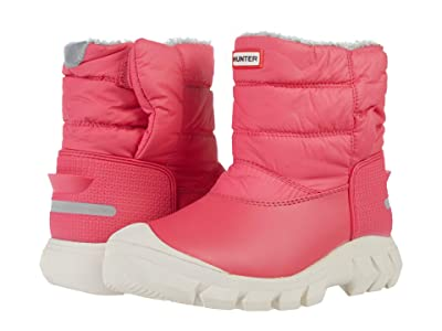 Hunter Kids Original Snow Boots (Little Kid/Big Kid) (Bright Pink) Girls Shoes