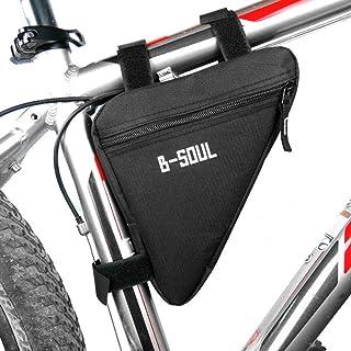826525d54b3 Lorenlli Fit B-Soul Impermeable Triángulo Ciclismo Bolsas de Bicicleta Tubo  Delantero Bolsa Marco Porta