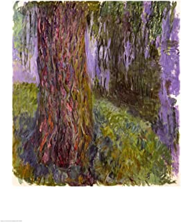 Weeping Willow and The Waterlily Pond by Claude Monet Art Print, 17 x 22 inches