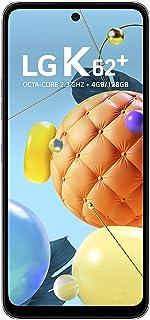 "Smartphone LG K62+ Android 10.0 Tela 6.6"" 4GB/128GB Câmera Quádrupla 48MP 5MP 2MP 2MP Selfie de 13MP -Branco"