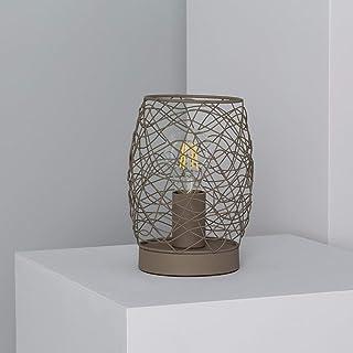 LEDKIA LIGHTING Lámpara de Mesa Winbi Verde Oliva