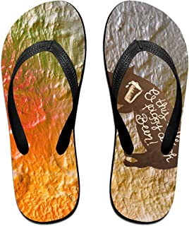 AA+ME The Noble Pig Comfortable Men Women Summer Beach Sandals Shower Flip-Flops Slippers