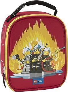 LEGO Unisex City Fire Lunch Bag