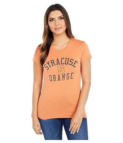 Champion College Syracuse Orange Keepsake Tee (Southern Orange) Women