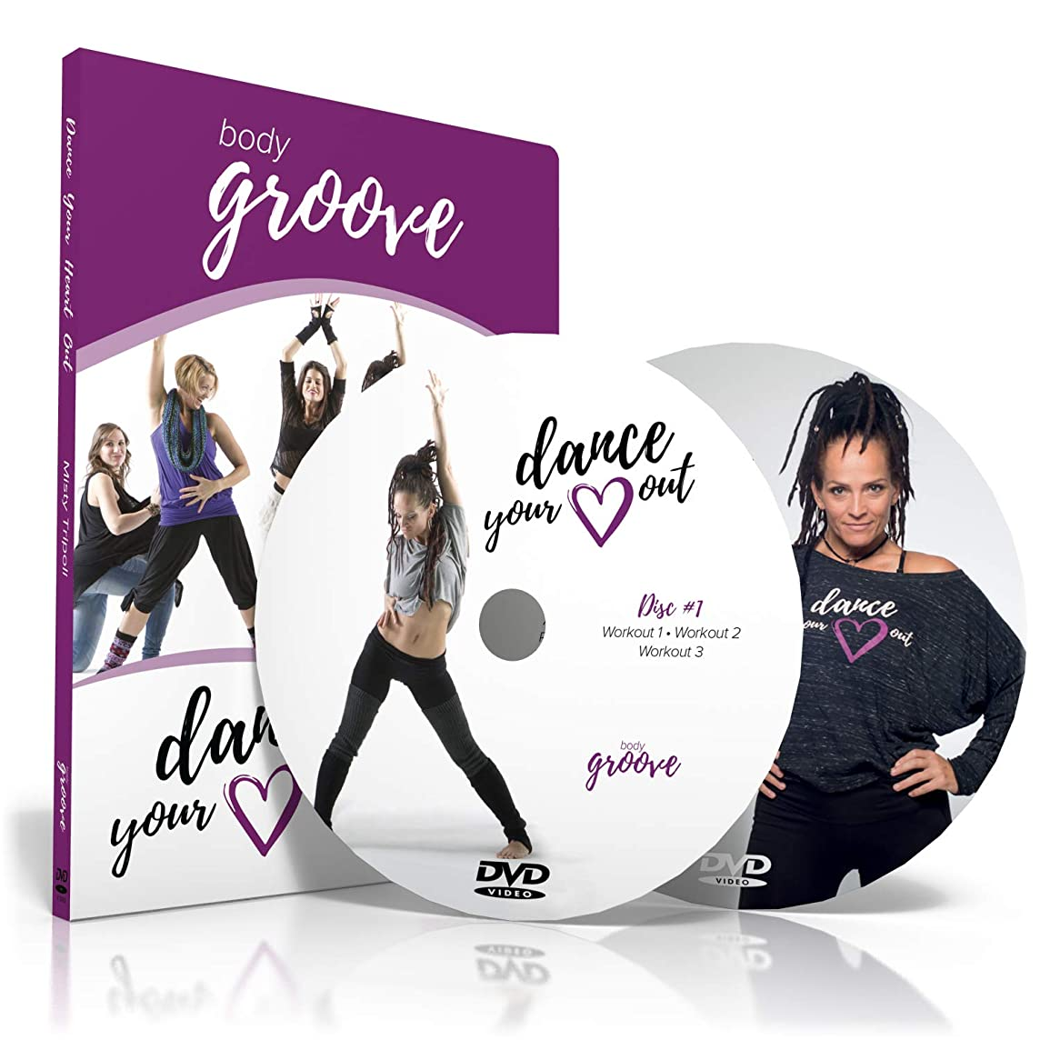 Body Groove Dance Your Heart Out DVD Collection