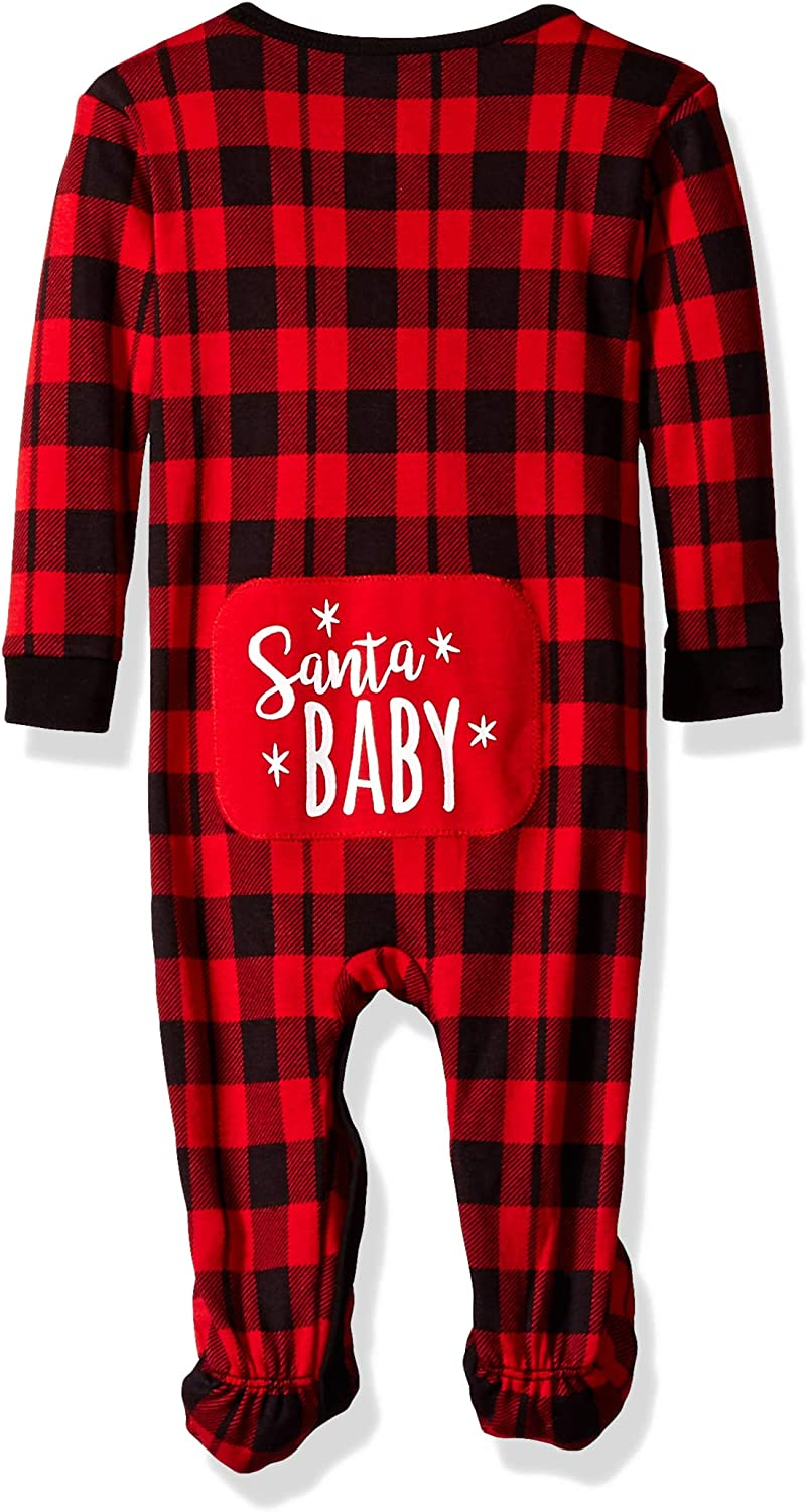 Cute and Cozy Softness Comfy Petit Lem Girls Holiday Baby Footed Sleeper