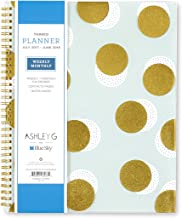 Ashley G for Blue Sky 2017-2018 Academic Year Weekly & Monthly Planner, Twin-Wire Bound, 8.5
