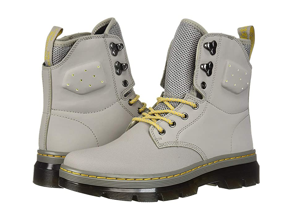 Dr. Martens Quinton (Mid Grey Ajax/Mid Grey Synthetic Nubuck) Boots