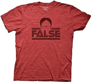 Ripple Junction The Office Men's Dwight Silhouette False T-Shirt