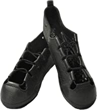RYAN AND ODONNELL Girls Soft Gel Black Leather Irish Dance Pumps - with Free Drawstring Bag -