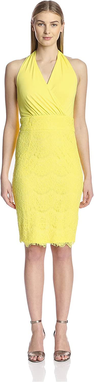 Alexia Admor Women's Halter Lace Dress