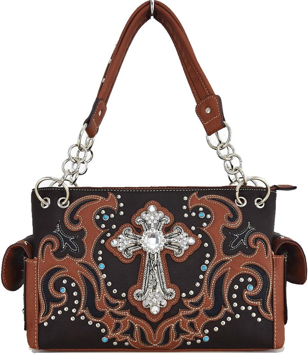 Womens Religious PU Leather Fashion Elegant Bag Purse 70%OFFアウトレット 店内限界値引き中&セルフラッピング無料