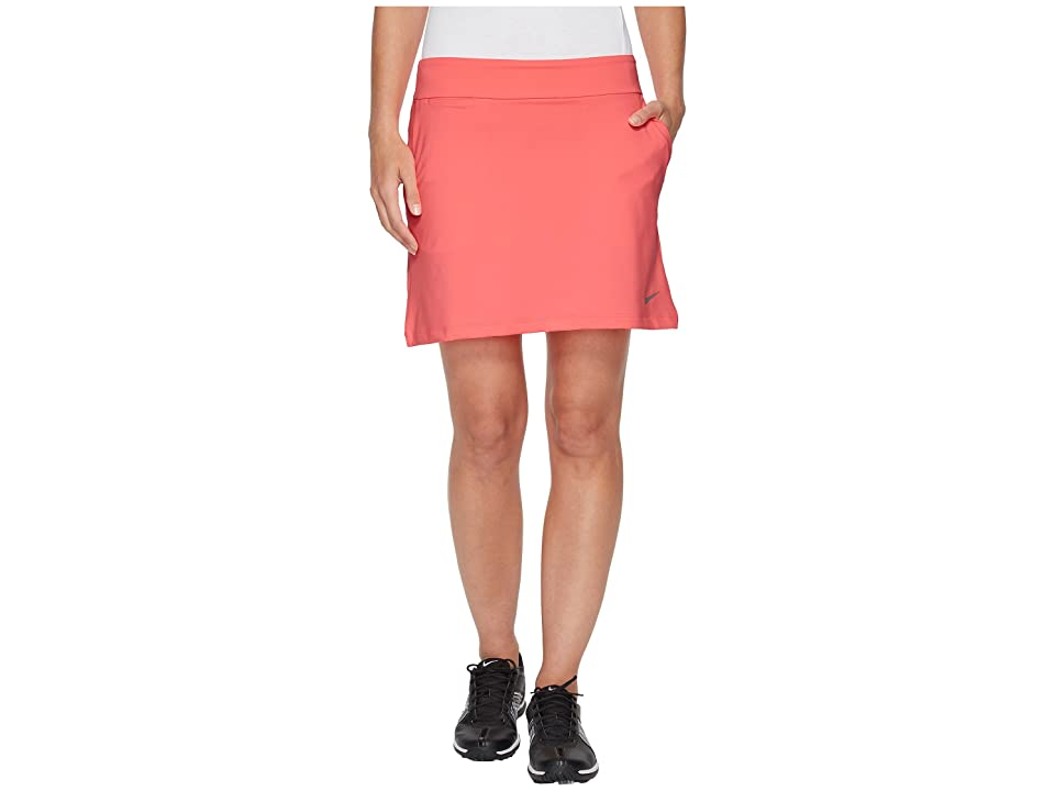 Nike Golf Dry Skort Knit 16.5 (Sunset Pulse/Black) Women