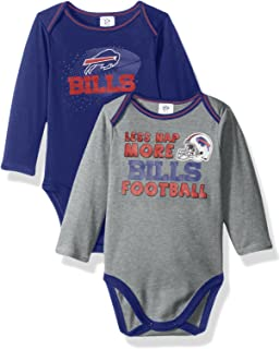 Outfits & Sets Professional Sale Outerstuff Nfl Infant Girls Denver Broncos Assorted 3 Pack Creeper Set Discounts Price