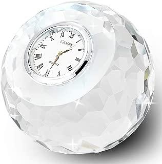 crystal clear clock