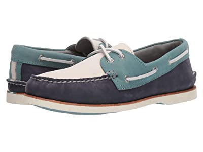 Sperry Gold Cup A/O Tri-Tone (Navy/Reef) Men